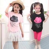 短袖女童t恤中大儿童t恤童装女童夏装2013新款蝙蝠宝宝718母婴日 价格:19.90