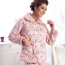 特价 多拉美睡衣加厚珊瑚绒夹棉加厚女士夹棉棉袄睡衣套装CN42463 价格:147.60