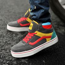 正品高帮板鞋休闲男士板鞋运动鞋时尚潮鞋韩版英伦风街舞鞋滑板鞋 价格:80.00