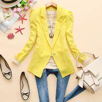郗茜CPP-c832韩版2013秋装新款女装蕾丝拼接垫肩长袖西装外套H-01 价格:52.00