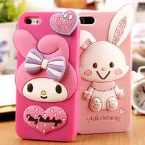 最新款韩国萌宠 苹果5手机壳 可爱卡通立体硅胶套 iphone4s手机壳 价格:18.00