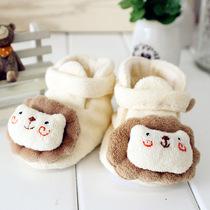 阿卡手工diy 婴儿鞋子材料包 手作学步前鞋 0-1岁 小狮子宝宝秋鞋 价格:36.00