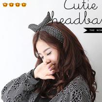 满9.9包邮 韩国饰品 潮女可爱兔子耳朵发带头箍发饰城市猎人 8146 价格:1.90