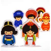 韩国进口Miracle fish亚洲传统婚礼风格 创意冰箱贴随意磁贴1对入 价格:29.00