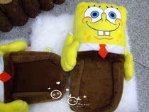 海绵宝宝SpongeBob 家居拖鞋 毛绒拖鞋 大头立体拖鞋 卡通拖鞋 价格:32.80