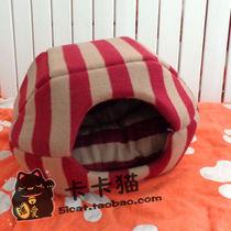 (北京88包邮)条纹控!不贵的外贸定制软绵绵 两用猫窝(带垫子) 价格:39.00