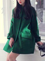 2013秋冬新款 女 韩版修身显瘦气质羊绒尼外套 妮子大衣 价格:249.00