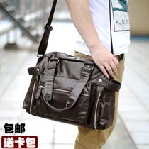 新款 男包包 手提包单肩包斜挎包男士 潮包 韩版旅行包休闲包大包 价格:100.00