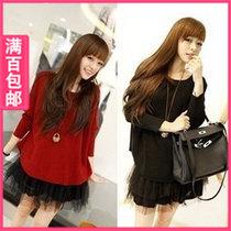 女长袖t恤蘑菇街女士小衫2013新款进货衣服装女装厂家批发直销潮 价格:32.67