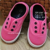 TOPSTAR 出口英国小童鞋 男女宝宝布鞋 柔软舒适 升级加厚 厂批发 价格:29.00
