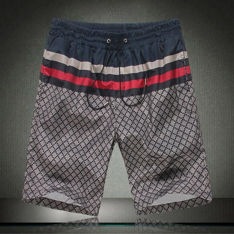 2013新款古奇男装 Gucci经典花纹男士短裤 古驰免烫休闲半裤 英伦 价格:79.00
