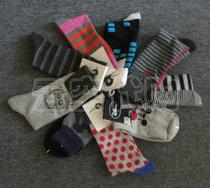 特价/jack jones/彩色单双装袜子.船袜(随机发货) 价格:10.00