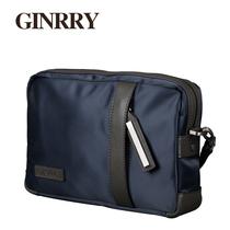 GINRRY牛津布2013新款男士手包大容量手拿包单肩包休闲男包手抓包 价格:238.00