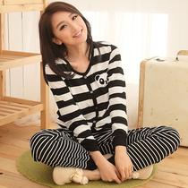 特价睡衣女纯棉长袖可爱夏居家服女款秋季套装卡通秋冬季家居服女 价格:79.00