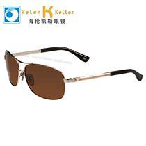 2013海伦凯勒太阳镜 偏光男款经典复古墨镜 锰镍金属镜架  H1350 价格:568.00