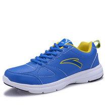 安踏正品跑鞋2013革面跑步鞋新款超纤皮面运动鞋 休闲鞋5556包邮 价格:85.00