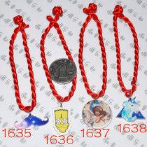原宿辛普森手绳 原宿胡子手链 天使手镯 小马手绳骷髅徽章眼球 价格:6.00