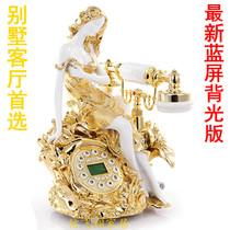 专柜精品时尚 创意金色座机欧式复古电话机 仿古电话机美女电话机 价格:268.00