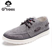 男式休闲鞋韩版潮鞋透气男鞋子 英伦低帮男士板鞋帆布鞋 流行男鞋 价格:79.00