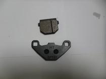 轻骑铃木摩托车配件 QS150T QS125T 前刹车片 前刹车皮 碟刹片 价格:10.00