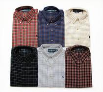 美国代购 正品保罗polo ralph lauren 拉夫劳伦 纯棉格子长袖衬衫 价格:349.00