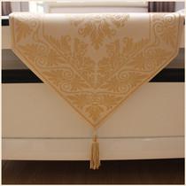 【圣美绮】高档桌旗现代欧式时尚简约欧式中式韩版桌布布艺茶几旗 价格:55.00