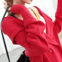 2013秋装新款女式毛衣女韩版宽松中长款开衫针织衫女装外套秋冬秋 价格:198.00