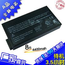 惠普 HP COMPAQ Business Notebook NC8000 笔记本电池 8芯 价格:127.00