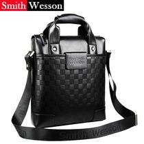 史密斯文森品牌男包 商务男士单肩包 真皮背包休闲斜跨手提拎包包 价格:186.00