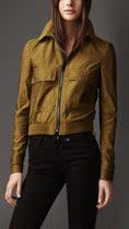 英国代购Burberry巴宝莉London女装/短外套 时尚拉链短款38846441 价格:10671.94