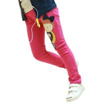 加绒加厚冬款 女童装韩版秋款2013卡通女孩靴裤小脚裤儿童打底裤 价格:19.97