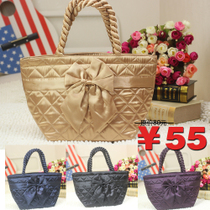 NARAYA娜莱雅曼谷包正品泰国包 蝴蝶结小号水饺包手提布包NBS-52 价格:59.00