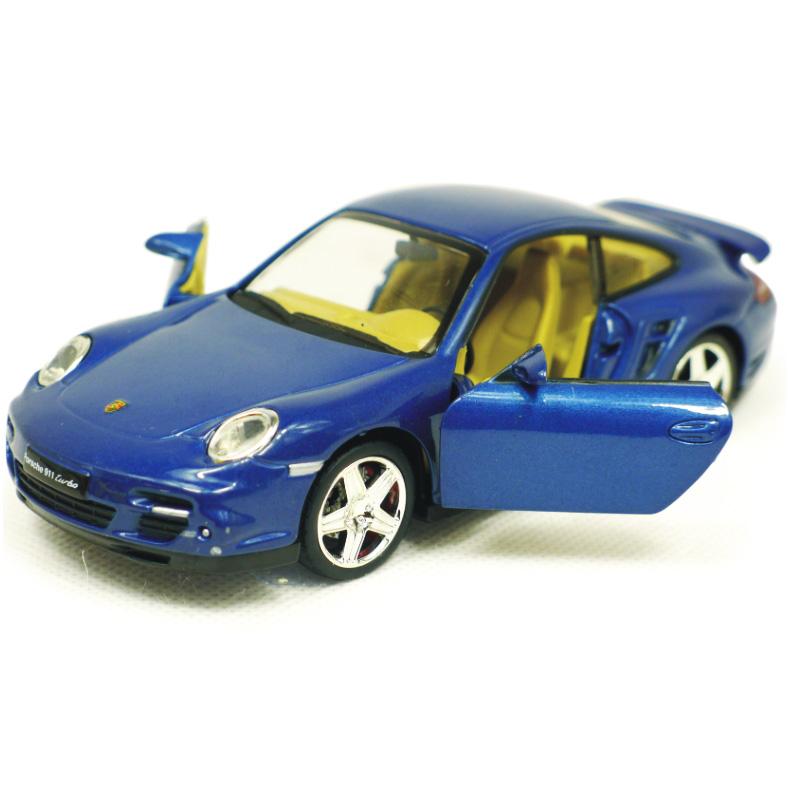 儿童玩具车 合金回力车 合金车模型 保时捷911TURBO 可开门带声光 价格:67.00