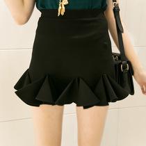 ISSDM 韩版立体独特三角装饰半身裙 女 包臀裙 一步裙 2013秋装潮 价格:68.64