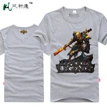 风和逸 英雄联盟LOL 猴子 齐天大圣孙悟空 短袖T恤衫 衣服包邮 价格:49.20