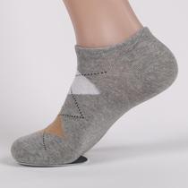 10双包邮船袜男袜子短袜菱形格隐形袜全棉夏季薄纯棉男士低腰袜子 价格:2.90