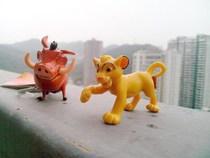外贸散货DISNEY 狮子王 小辛巴 犹猪 澎湃 人偶公仔模型PVC 价格:2.80