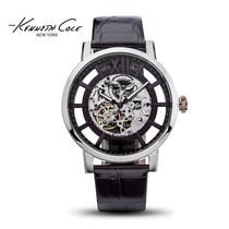 【礼盒套装】Kenneth Cole机械表全自动镂空男表皮带手表KC1921N 价格:1912.00
