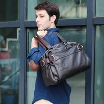 新款男士手提包 单肩包斜挎包旅行包 男 休闲 欧美 男士皮包 价格:109.00