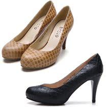 专柜代购2013秋款百百思图女鞋正品鞋真皮OL职业黑色细高跟女单鞋 价格:175.00