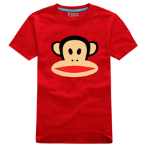 夏装 2013新款 韩版情侣装 大嘴猴 情侣纯棉短袖T恤 男装 女装 价格:39.00