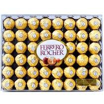 洋品行包邮 美国进口费列罗巧克力金莎榛仁T48粒钻石礼盒最新到货 价格:119.00