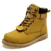 雅煊秋军靴真皮牛皮靴鞋子登山男靴子潮流棉靴工装靴马丁靴大头鞋 价格:156.00