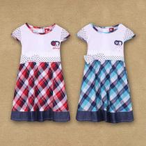 迷糊娃娃童装 女童夏装2013新款儿童宝宝中裙连衣裙公主裙子 价格:45.00
