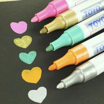 韩国文具 经典金色 银色 油漆笔 DIY相册必备涂鸦笔 签名笔 价格:4.90