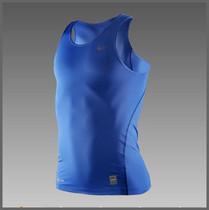 耐克pro2012科比背心专柜夏正品新款运动紧身衣男款t恤272434蓝色 价格:44.00