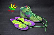 香港专柜正品耐克NIKE DUNK SB HIGH高帮男款鞋复古板鞋绿色 实拍 价格:287.00