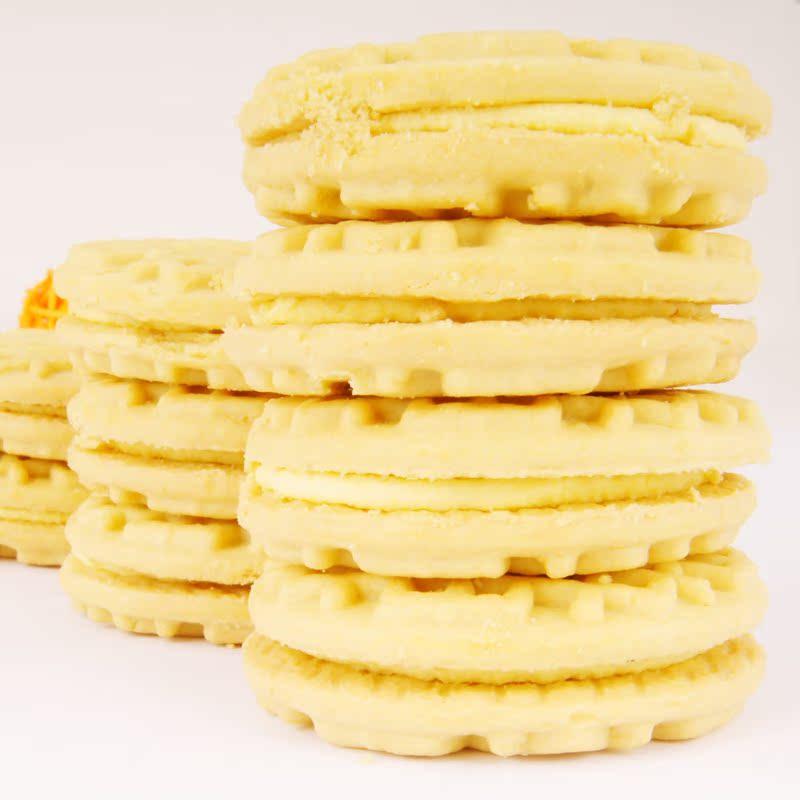 卡夫零食 优冠牛奶香浓夹心饼干 香酥蛋黄味 390g 儿童早餐零食 价格:16.99