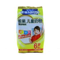A雀巢奶粉 儿童奶粉6+ 500g/袋 6岁上 12年11月 江浙沪皖整箱包邮 价格:28.50