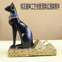 埃及猫神首饰架桌面摆设玄关摆件装饰摆件吉祥辟邪公鸡 价格:128.00